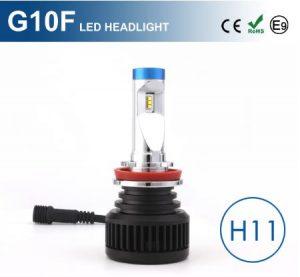 H11 G10F LED lempučių rinkinys