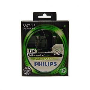 Philips-H4-Color-Vision-Green