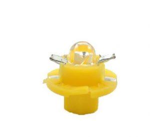 LED BAX B8.4d geltona