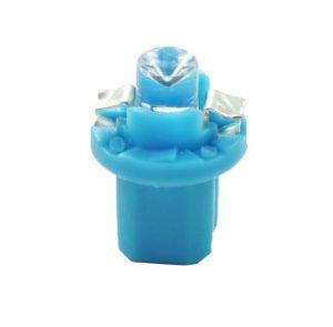LED BAX B8.5d mėlyna