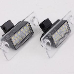 LED Numerio apšvietimas AUDI A3 A4