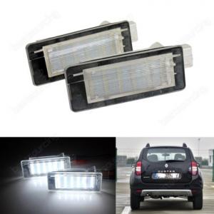LED Numerio apšvietimas Dacia Duster