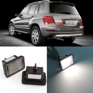 LED Numerio apšvietimas Mercedes-Benz GLK