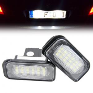LED Numerio apšvietimas Mercedes-Benz W203