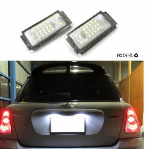 LED Numerio apšvietimas Mini Cooper R50 R52 R53