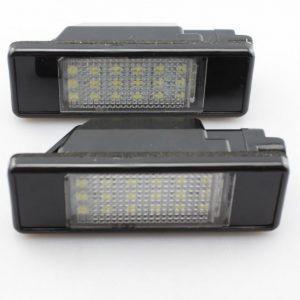 LED Numerio apšvietimas PEUGEOT 207