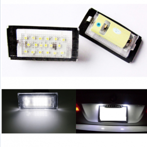 LED license plate light BMW E46 coupe