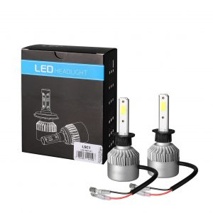 LED H1 lempučių rinkinys