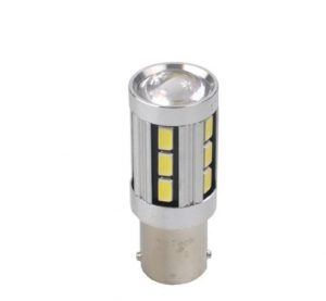 MTECH LED L355 - Ba15s P21W 18xSMD5730 CANBUS 12V balta