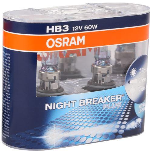 osram night breaker plus hb3 ma iausia kaina. Black Bedroom Furniture Sets. Home Design Ideas