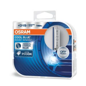 OSRAM D1S Cool Blue Boost 7000K 2 vnt.