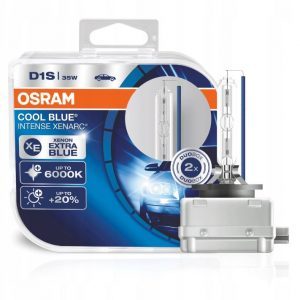OSRAM D1S Cool Blue Intense 6000K DUO