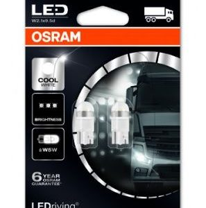 OSRAM LED W5W Cool White 6000K 24V