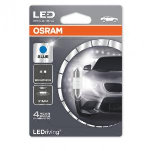 Osram Led C5W 31mm Blue Standard 180