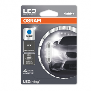 Osram Led C5W 36mm Blue Standard 180