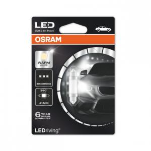 Osram Led C5W 41mm 4000k Premium 360