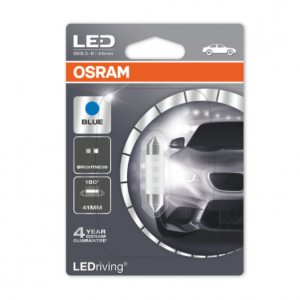 Osram Led C5W 41mm Blue Standard 180