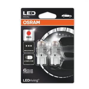 Osram Led W21/5W Red Premium