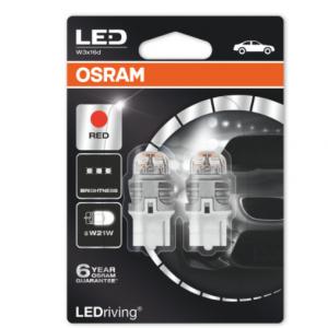 Osram Led W21W Red Premium