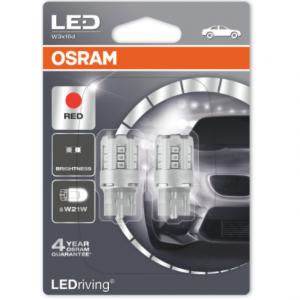 Osram Led W21W Red Standard