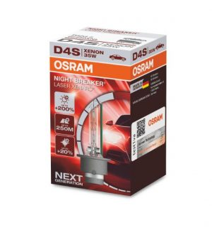Osram Night Breaker Laser D4S Next Generation +200%