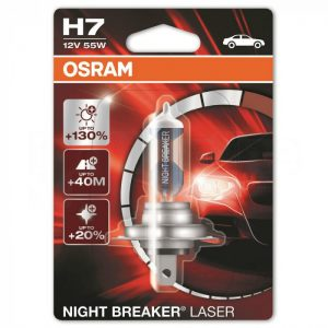 Osram Night Breaker Laser H7 +130% blister