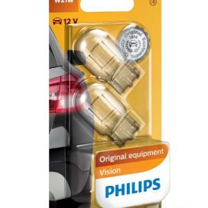 PHILIPS W21W Vision lemputės 2vnt.