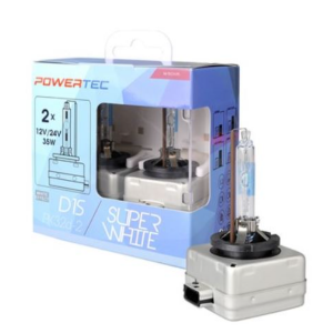 POWERTEC SUPERWHITE D1S DUO 2 VNT.