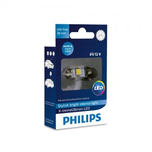 Philips LED C5W X-treme Vision 4000K 38mm
