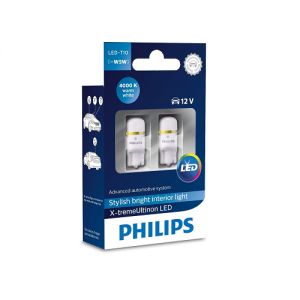 Philips LED W5W T10 X-treme Vision 4000K