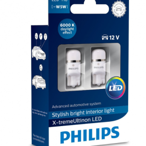 Philips LED W5W T10 X-treme Vision 6000K