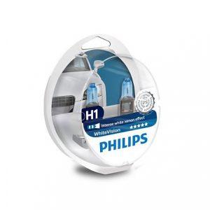 Philips White Vision H1 4300K +2 W5W