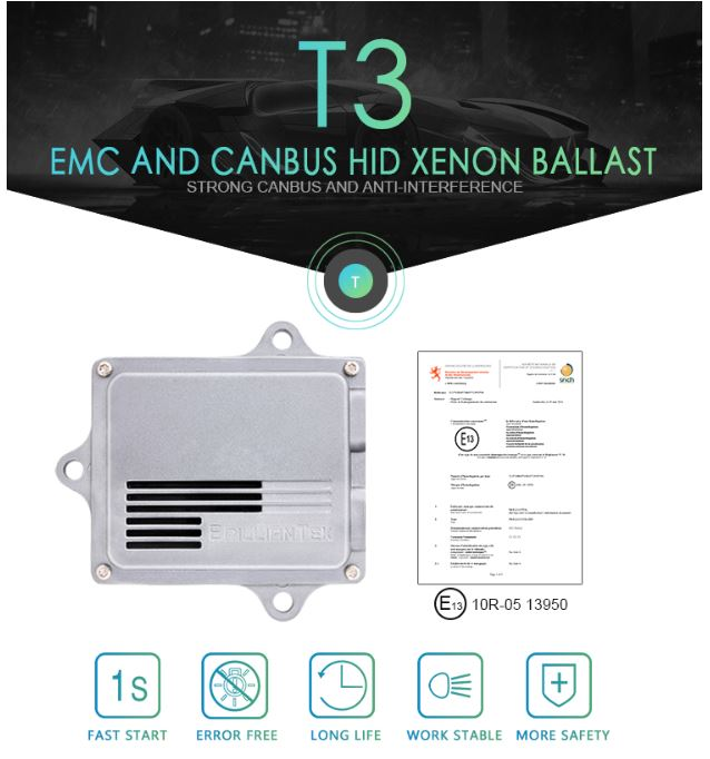 HID Ballast 9-16V 55W CANBUS