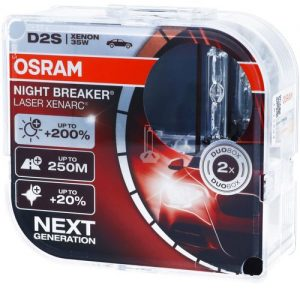 Osram Night Breaker Laser D2S DUO Next Generation +200%